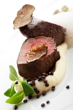 Veal Filet Mignon with Truffle Mash photo