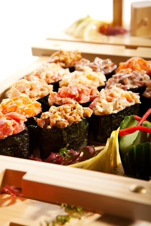 Japanese Cuisine - Gunkan Sushi Ship Collection photo