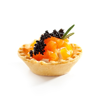 tartlet: Salmon Tartlet