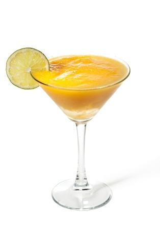 margarita glass: Mango with Apple Frozen Cocktail