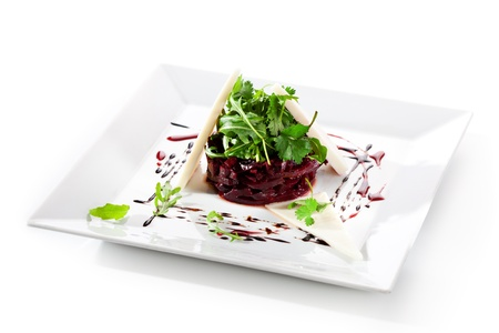 Salad with Beet and Goat Cheese Reklamní fotografie