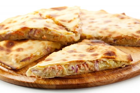 potato tuna: Pizza Calzone with Tuna