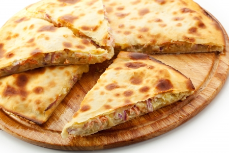 Pizza Calzone with Tuna photo