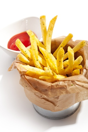 Fries with Red Sauce photo
