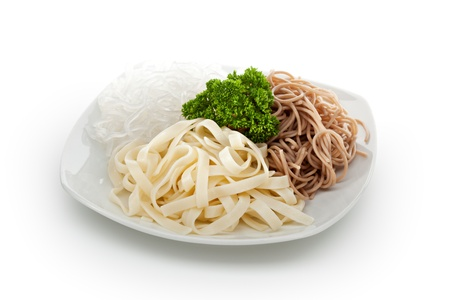 buckwheat noodle: Buckwheat Spaghetti, Crystal Noodles and Udon