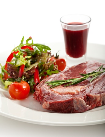 rib eye: Rib Eye Steak with Thyme