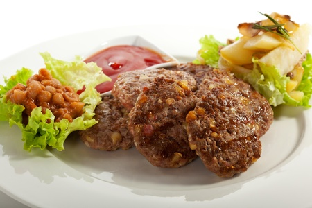 serbian: Serbian Rissoles with Bacon and Cheese
