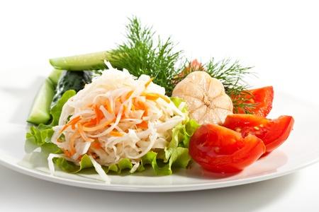 pickles: Assorti of Pickled Vegetables