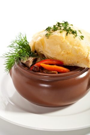 Veal Pot with Mushrooms photo