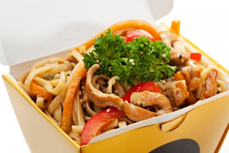 Chinese Noodle with Fried Pork