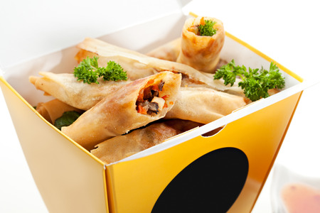 spring roll: Chinese Spring Roll