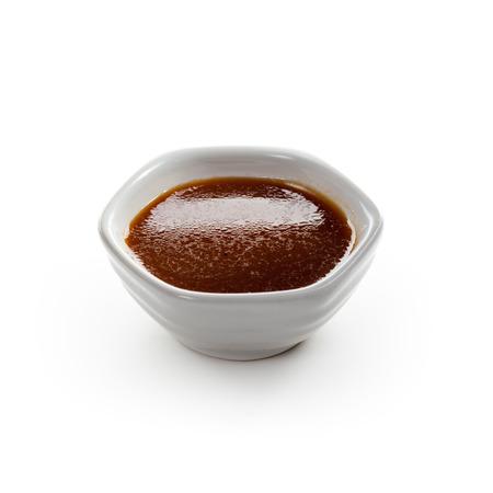 Sauce über White isoliert Standard-Bild - 25047233