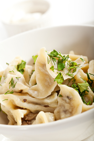 Dumplings with Mushrooms photo