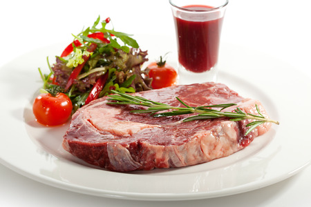 rib eye: Rib Eye Steak with Thyme