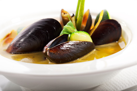 Soup from Mussel photo