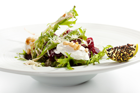 Baked Beetroot and Goats Cheese photo