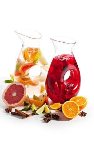 Freshness Sangria with Fruits photo