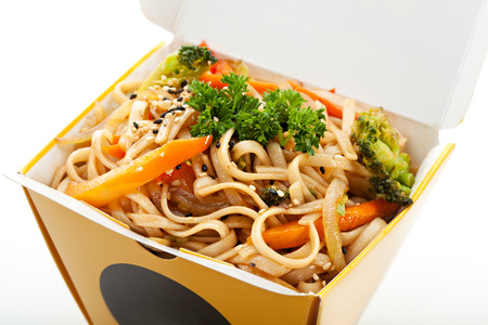 chinese noodle: Chinese Noodle with Vegetables