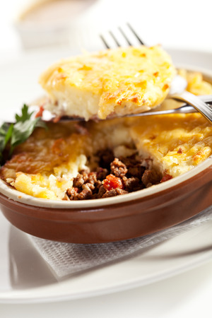 Cottage Pie with Mushrooms Sauce photo