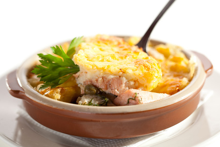 Fish Pie with Mushrooms Sauce photo