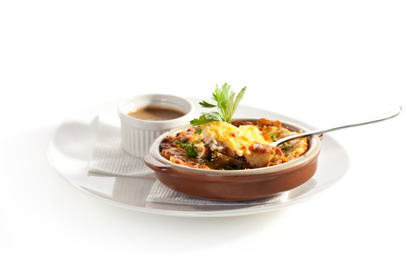 Shepherds Pie with Mushrooms Sauce photo