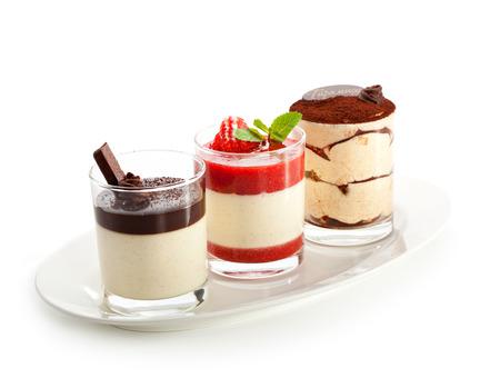Desserts - Panna Cotta photo