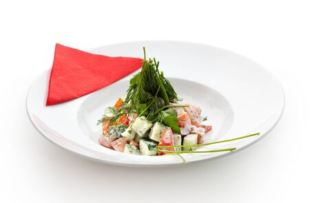 Fresh Vegetables Salad photo
