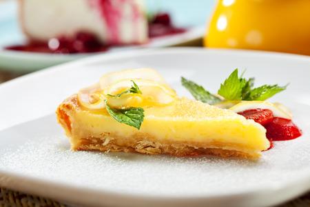 Dessert - Lemon Tart with Berries