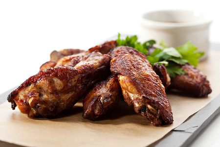 Grilled Chicken Wings with Sauce photo