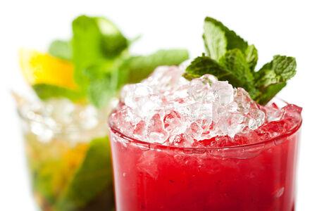 collins: Raspberries Collins Cocktail