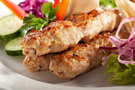 Chicken Kebab with Tartar Sauce photo