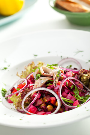 Salad of Beetroot and Herring photo