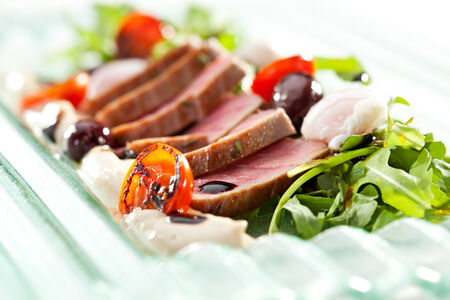 Nicoise with Tuna and Vegetables photo