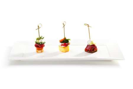 canapes: Delicious Meat and Vegetables Canapes