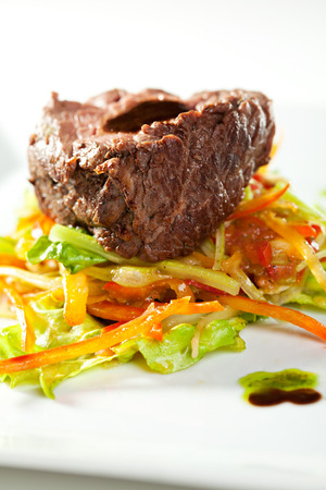 mutton: Fillet of Veal with Vegetables