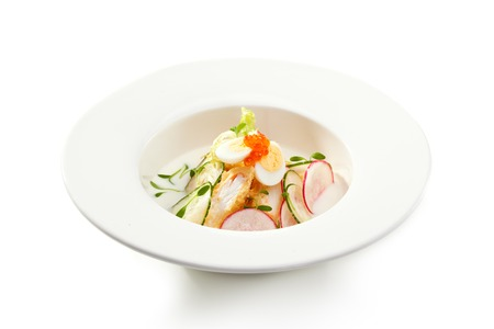 crabmeat: Japanese Cold Soup with Crabmeat