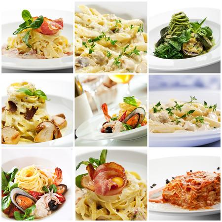 pastas: Colecci�n de deliciosa comida italiana Pasta