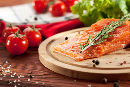 Salmon Fillet with Spicy and Lemon photo