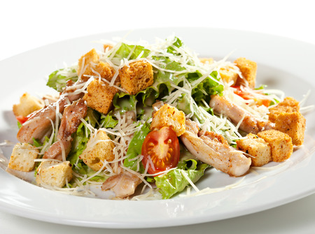 ensalada cesar: Ensalada César con pollo Filete