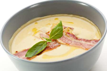 creamy: Creamy Broccoli Soup with Bacon
