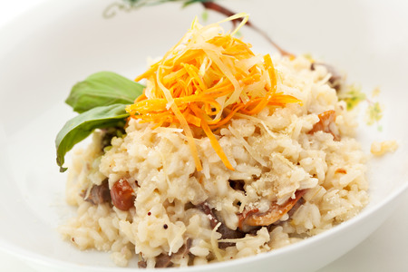 risotto: Risotto with Meat and Vegetables