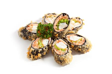 maki: Tempura Maki Sushi - Deep Fried Roll