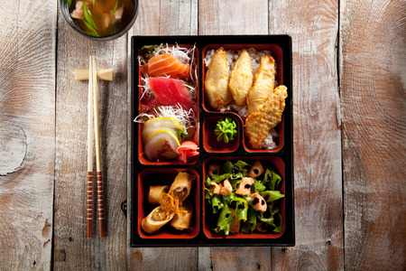 bento: Japanese Lunch Box with Soup Bowl
