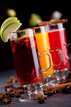 mulled wine spice: Warm Cocktail - Mulled Wine and Berries Tea