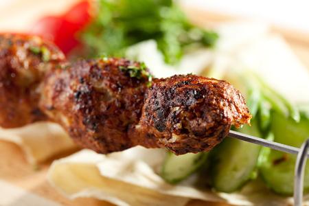 chicken kebab: Spicy Chicken Kebab with Vegetables