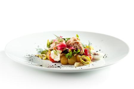 Salat Nicoise mit Thunfisch