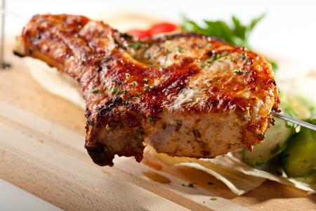 pork  loin: BBQ & Grilled Pork Loin with Vegetables