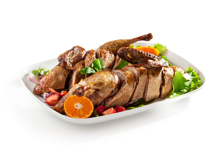baked: Roast Stuffed Duck with Fruit and Berry