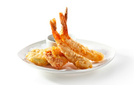 fried: Deep Fried Shrimp with Sauce