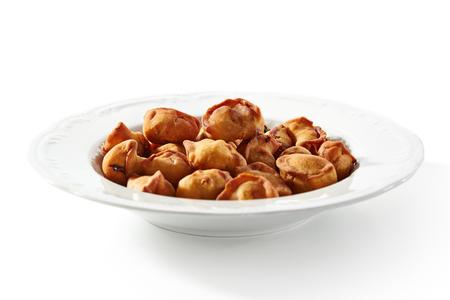 deep fried: Deep Fried Dumplings Bowl